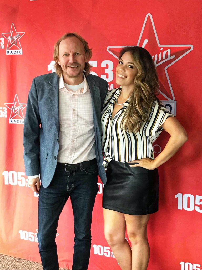 Julia Tynes and Scot Turner Virgin Radio