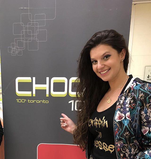 Nina Browwn avec CHOQ FM