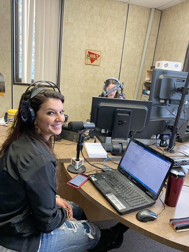 Nina Browwn Radio Acton Radio Tour