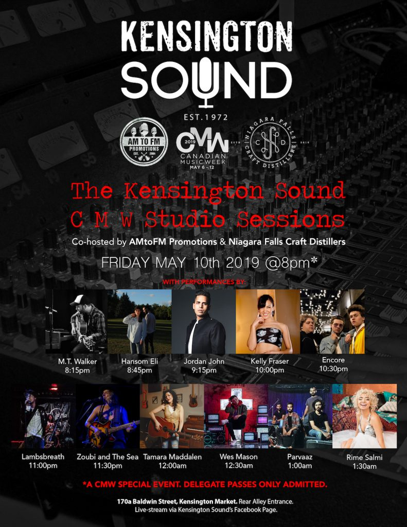 kensington sound cmw showcase