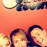 Steph Hopf at Sun Country 99.7 in High River
